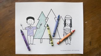 Camp New Humble Pie Coloring Pages by KICKS TV