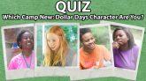 Camp New: Dollar Days Quiz