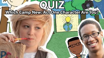Camp New: Act One Personality Quiz