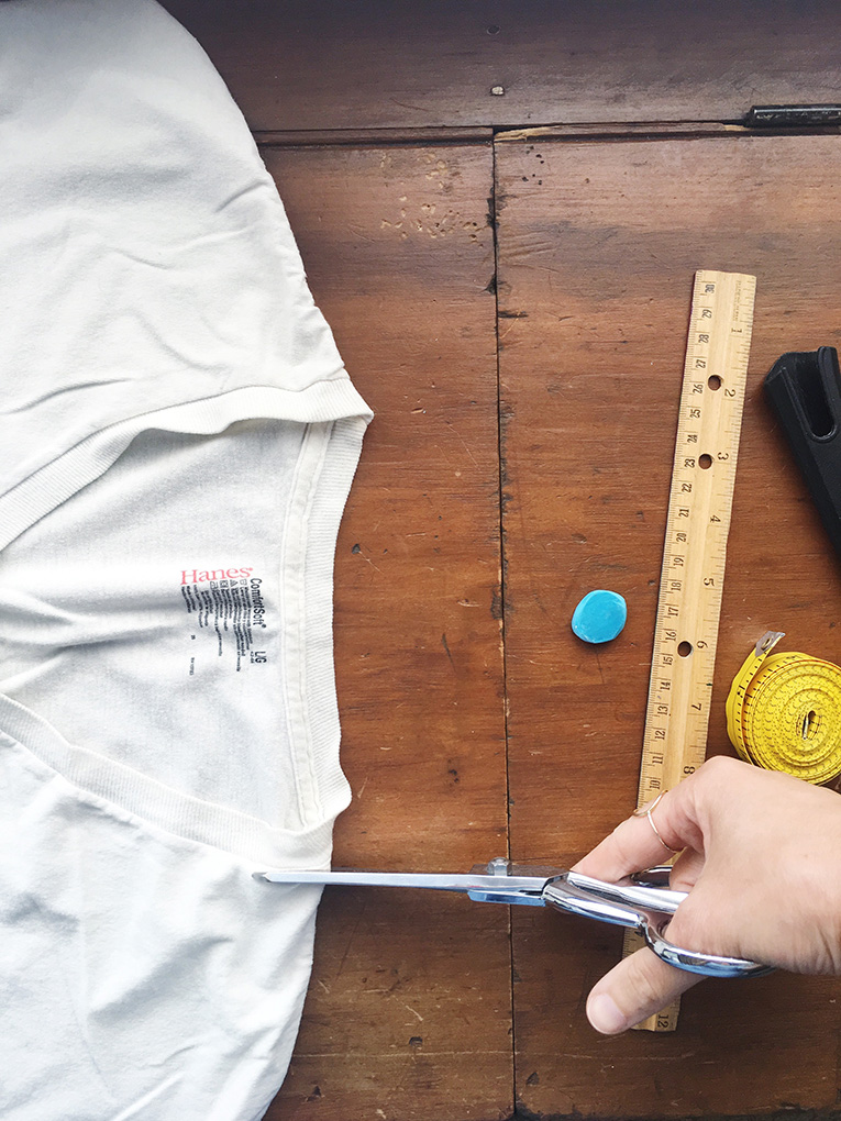 DIY Re-Purposed T-Shirt Bag