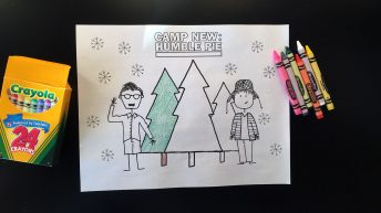Christmas Coloring Pages from Camp New: Humble Pie