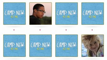 Camp New: Act One Memory Game