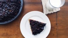 Jammy Blueberry Spice Cake