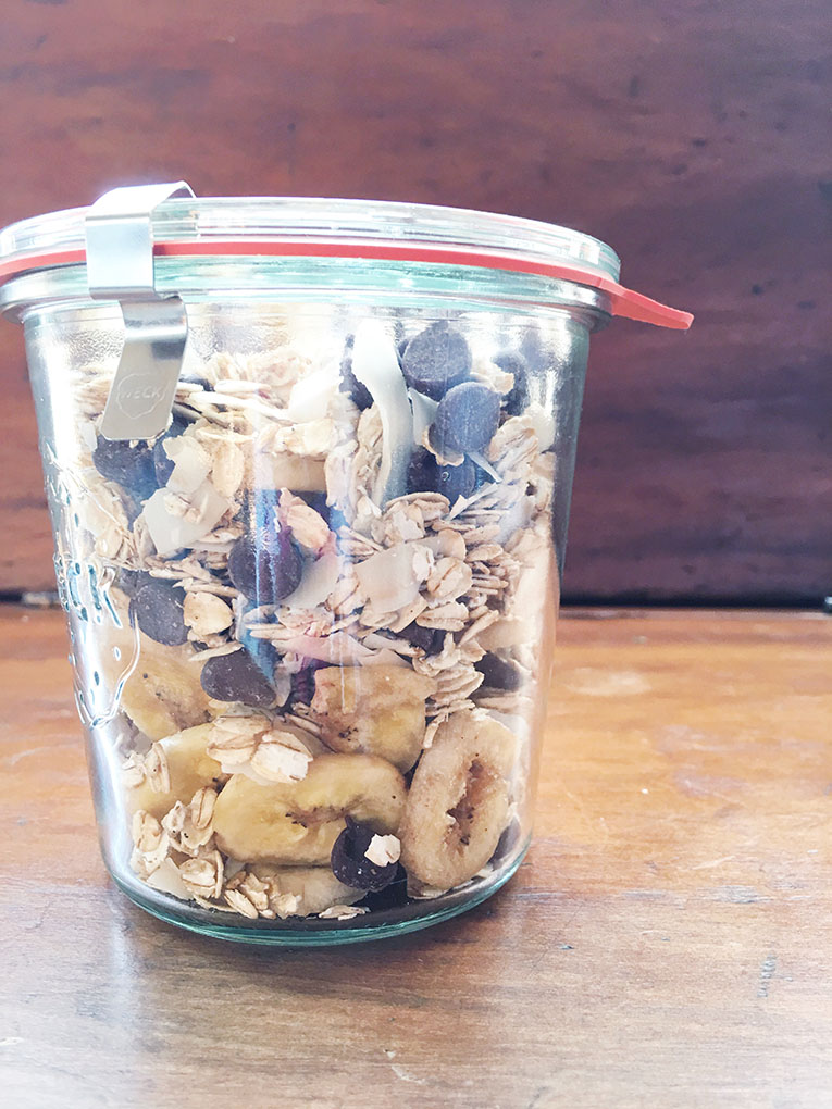 Toasted Oats Trail Mix Recipe