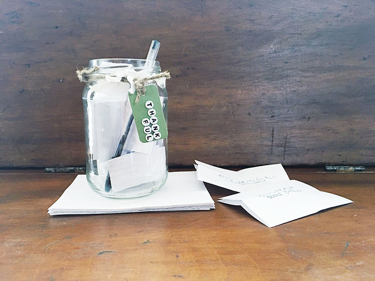 Thankful Jar Craft & Activity