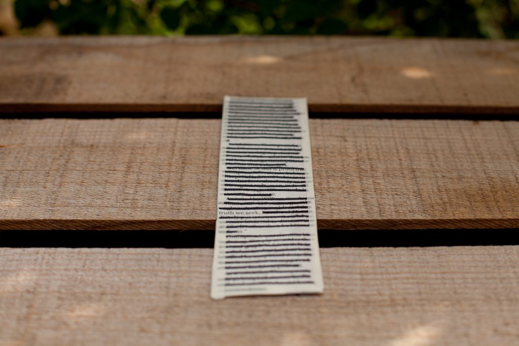 create your own bookmarks